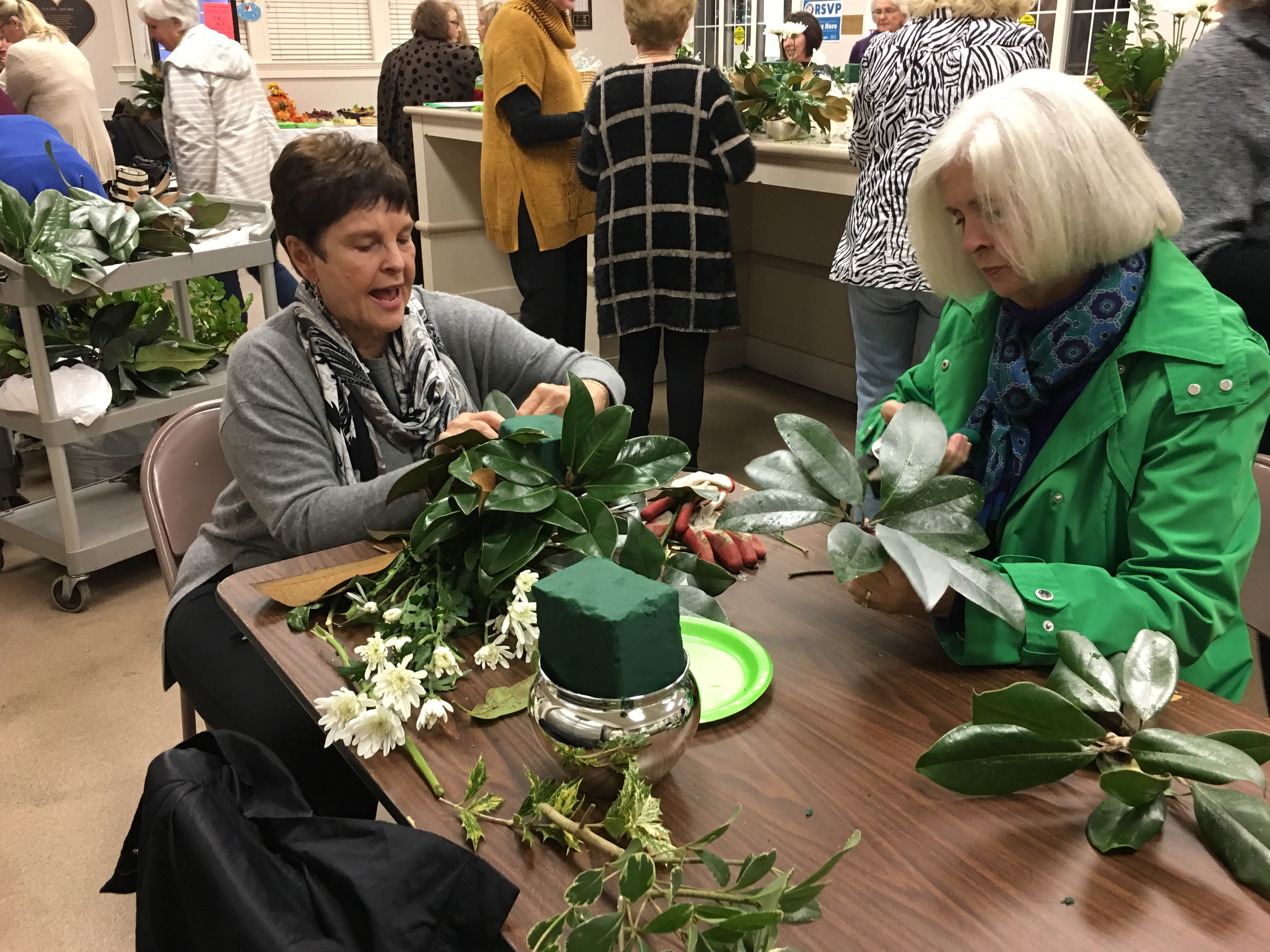 Thanks to the Lady Slipper Garden Club