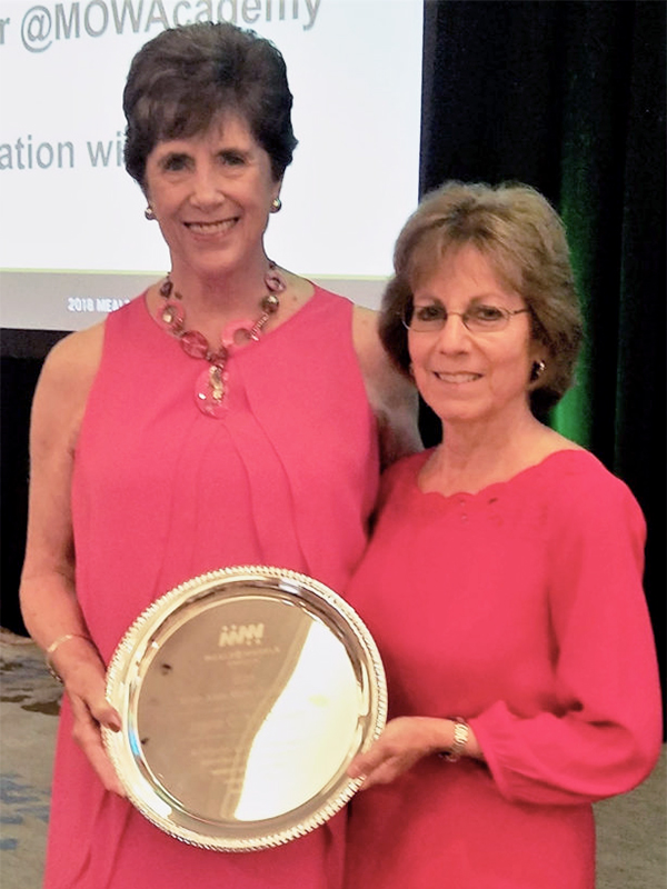 Jayne McQueen Receives Inaugural Sister Alice Marie Quinn Award!