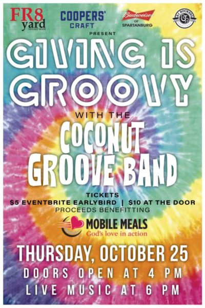 Giving is Groovy with The Coconut Groove Band!